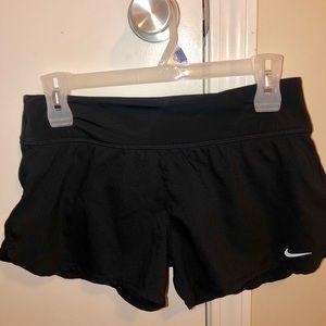 Black Nike Dri-Fit shorts